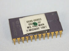 Midway Ms Pac-man Integrated Circuit Chip Eprom 0595-00803 0500-5F Vtg Stock