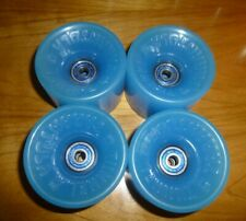 Tunnel Tarantula Skateboard Wheels - Translucent Blue w/Bearings 70MM