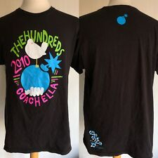 THE HUNDREDS x COACHELLA (2010) Mega RARE Official LIMITED EDITION T-Shirt Large