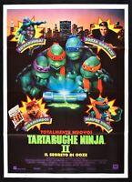 Poster Ninja Turtles Die die Rettung Geheimnis Ooze Schildkröten Mutant M34