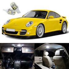 12 x Xenon White LED Interior Light Package Kit For Porsche 911 997 2005 - 2012