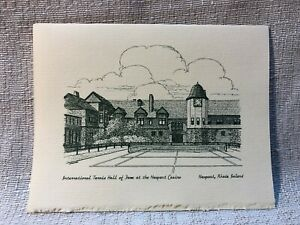 15 International Tennis Hall of Fame Newport Casino Note Cards & Envelopes Card
