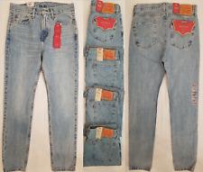 Levi's Men's 510 SKINNY Fit Jeans Size 38 X 32 Classic Rise Light Blue Denim