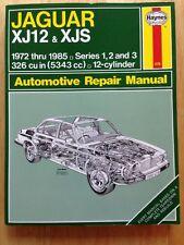 Haynes Manuals: Jaguar XJ12 and XJS : 1972 Thru 1985 - Series 1, 2 and 3 - 326 C