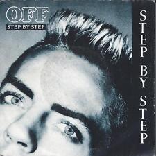 """Off - Step by Step - 45 Tours 7"""" [Bon état+]"""