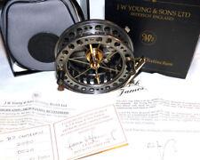 J W Young Bob James centre pin reel Ltd Ed no 20 boxed & unused