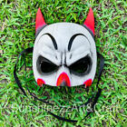 Batman Joker Fusion Masquerade Costume Cosplay Halloween Party Mask Red/White