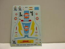 DECAL FERRARI 430 GT2 LEMS 1000KM SPA '07 #98 ICEPOL RACING TEAM TECNOMODEL 1/43