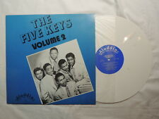Volume 2 LP FIVE KEYS (Artist) multi-colored white Vinyl LP; Aladdin; Sweden
