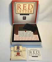 VINTAGE RED LETTER GAME THE GAMES GANG LTD 1989 100% COMPLETE