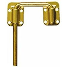 "National Hardware V800 2-1/2"" Sliding Door Latch in Brass"