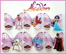 Aladdin Pink Disney 3d Butterflies wall stickers
