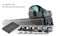 Tactical RMR Red Dot Sight Plate Mount adapter  For Glock 17 19 22 23 34 41