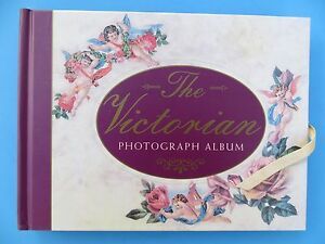 "The Victorian Photograph Album 10"" by 7 1/2"" Lovely Never Used Mint"