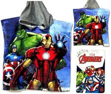 Marvel AVENGERS (21 in x 42 in) Hooded Beach/Bath Poncho Towel - NWT