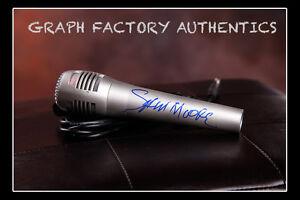GFA Soul and R&B Singer SAM MOORE Signed Microphone MH1 COA