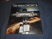 2009 Toyota Scion Full Line Color Brochure Catalog Prospekt