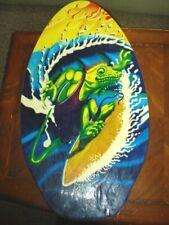 "New listing VINTAGE 1990's Michael Searle  Skimboard, Boogie Board ,Body Board 36"""