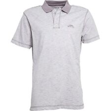 NEW WEIRD FISH £35 FROST GREY LOGO POLO SHIRT / TOP .. LARGE .. MORE LISTED