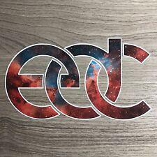 "EDC Electric Daisy Carnival Music Festival 5"" Galaxy Vinyl Decal Sticker - BOGO"