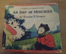 An Imp of Mischief by Thornton W. Burgess 1929
