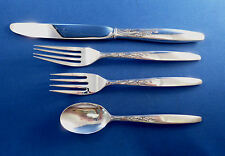 SUMMER SONG LUNT 4PC STERLING DINNER PLACE SETTING S