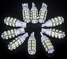 10x T10 Xenon White 25-LED W5W 912 921 Bulbs Car Reverse Interior Exterior Light