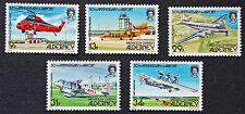 Timbres AURIGNY - Stamp ALDERNEY - Yvert et Tellier n°18 à 22 n** (cyn3)