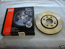 Pair Brake Discs- Front Vented - fits Volvo 850 900 C70 S90 V70 - (280mm Discs)