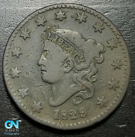 1829 Coronet Head Large Cent   --  MAKE US AN OFFER!  #B6285