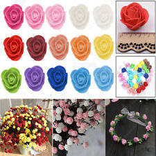 100PCS 500PCS PE Foam Rose Flower Head DIY Wedding Home Party Decor Scrapbooking