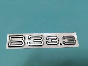 NEW EMBLEM BADGE B3 3.3 FOR ALPINA E36 E46 E90 E91 F30 F31 318i 320i 323i