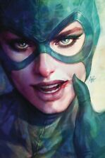 CATWOMAN 13 Artgerm Lau Cardstock Variant YOTV the Offer DC 2019  NM