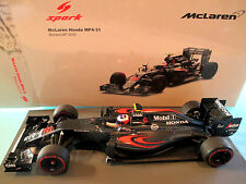 1/18 McLaren Honda MP4-31 #22 Jenson Button GP Monaco 2016 Spark 18S249