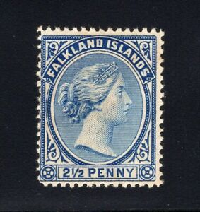 1891 Falkland Isl. SC#15b. SG#28. Mint, Never Hinged, FVF.