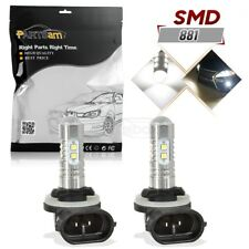 2pcs 881 862 888 896 10-2323-SMD LED Fog Driving Light Replacement Bulbs 6000K