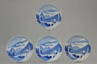 #4 Antique 19/20c Lovely Japanese Porcelain footed Nabeshima Style Porce...