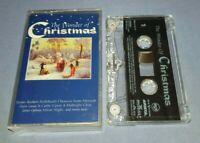V/A THE WONDER OF CHRISTMAS cassette tape album