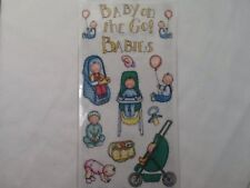 Baby Stroller Car Seat High Chair SCRAPBOOKING Stickers By Bo-Bunny Press A75
