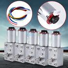 DC 12V Reversible High Torque Turbo Worm Geared Motor Encoder 10/20/30/40/100RPM