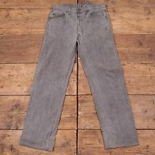 Mens 1980s USA Levis Vintage Red Tab 501 Denim Jeans Grey Size 33 x 31 R3742