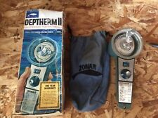 Vintage Fishing Deptherm II Electronic Thermometer Find Preferred Fishing Zones