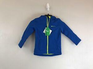 Boy's Mountain Warehouse Exodus Water Resistant Softshell Jacket-Size 3-4 - Blue