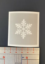 Snowflake christmas glass etching stencil hobby craft