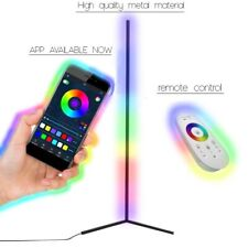Luminate! High Quality Color Changing - Minimalist LED Corner Floor Lamp BLK/WHT