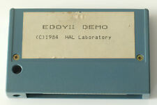 Eddy II demo for msx rare cartridge perfect working hal laboratory (no konami)
