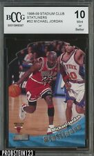 1989-99 Stadium Club Satliners #S2 Michael Jordan Chicago Bulls BCCG 10