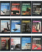 12 x Zeitschrift Stereo 1990 Audio HiFi Magazin / Kompletter Jahrgang