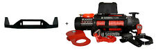 Carbon Electric winch with STEEL CABLE 12K 12000lb with D22 NAVARA CRADLE MOUNT