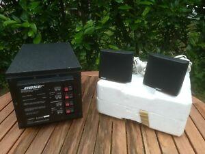 BOSE Aqoustimass 3 Series II >>3 SPEAKER SYSTEM<< Subwoofer + 2 Lautsprecher